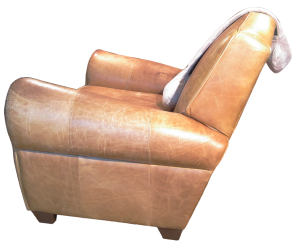 Body Prop Long on club chair for lumbar support