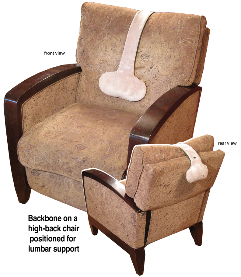 Adjustable Support Pillow For Any Recliner Chair Or Seat